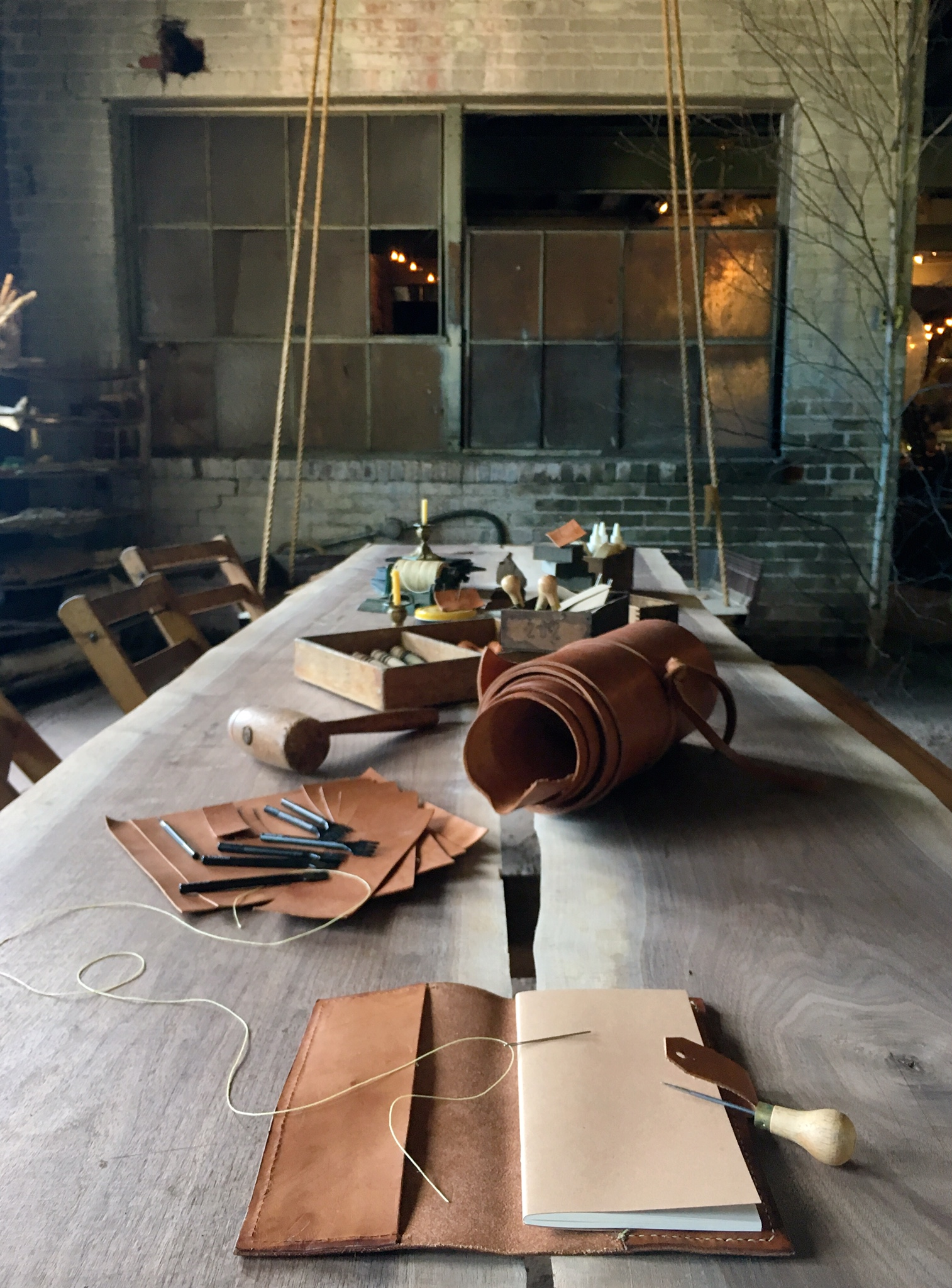 Fish & Bicycle Hand Leather Smithing - photo Juliette Hermant - 2