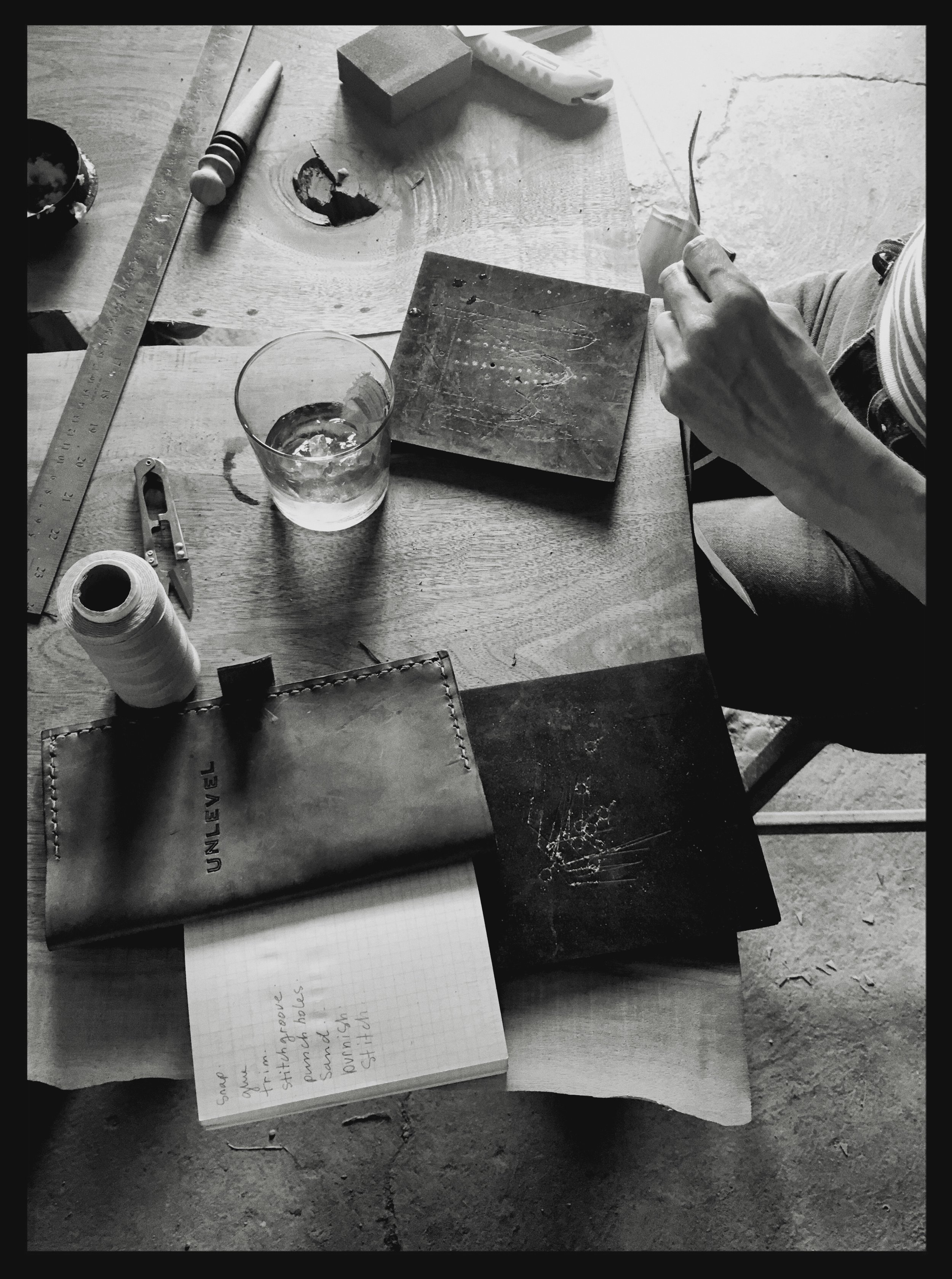 Fish & Bicycle Hand Leather Smithing - photo Juliette Hermant -6