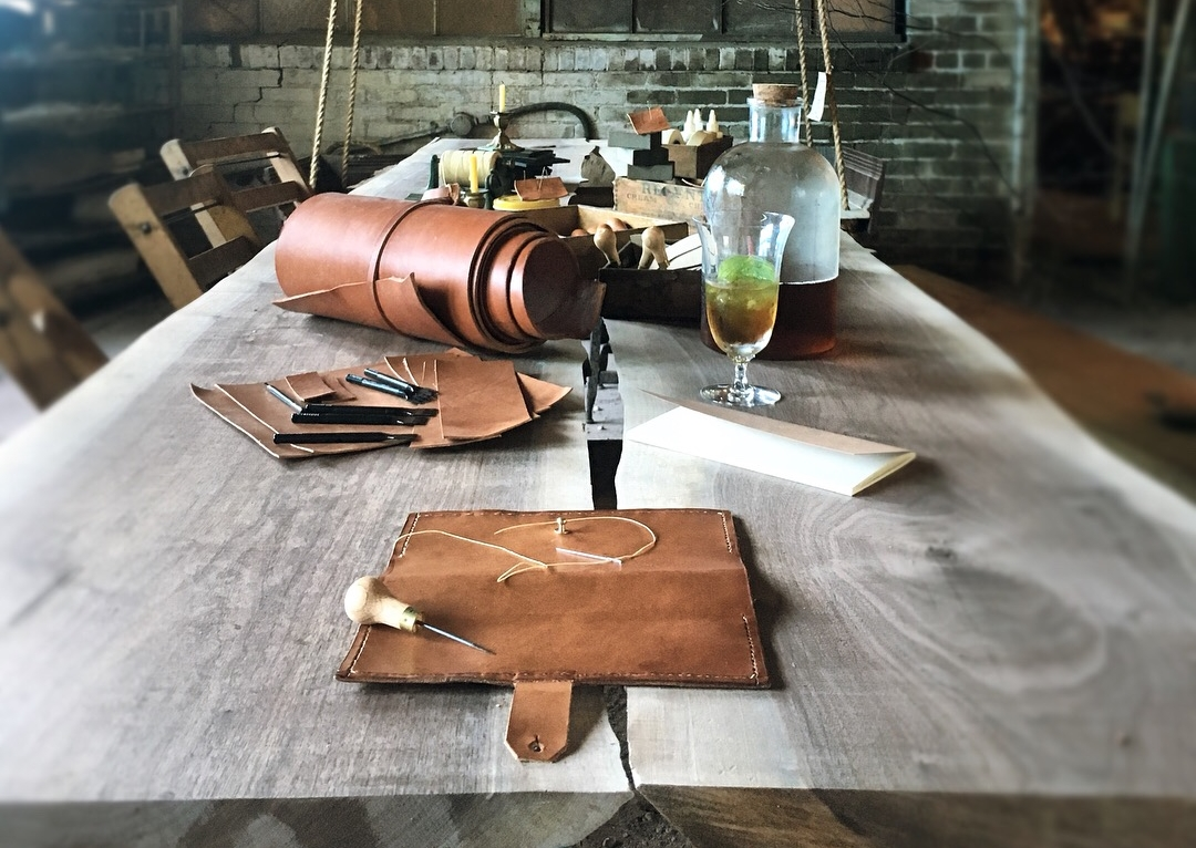 Fish & Bicycle Hand Leather Smithing - photo Juliette Hermant -7