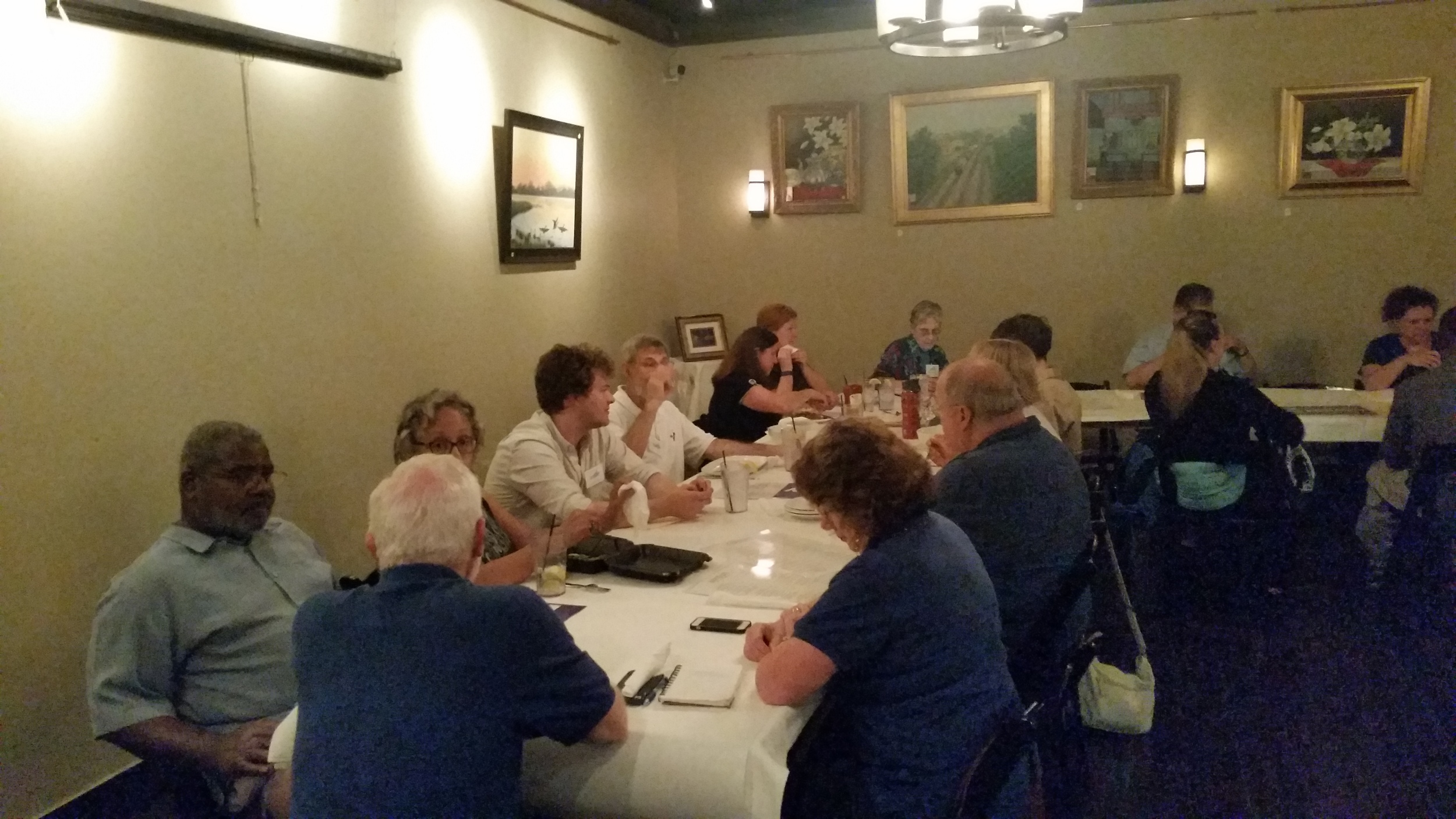 Cliff and Rita talk with area Committee Chairs.jpg