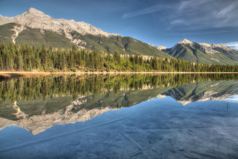 Dog Lake Reflection HDR