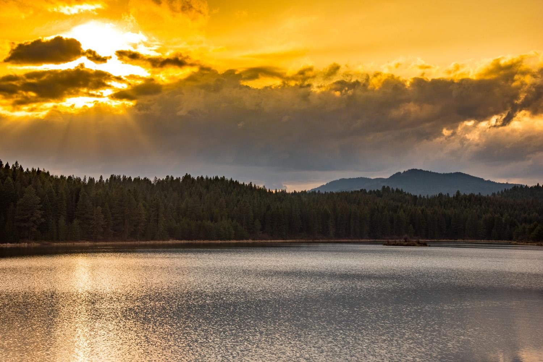 Spring Valley Sunset