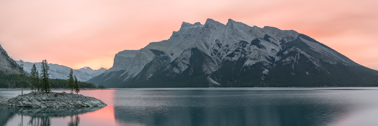 Lake Minnewanka Panoramic
