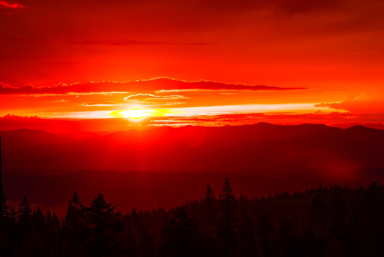 Red Mountain Morning