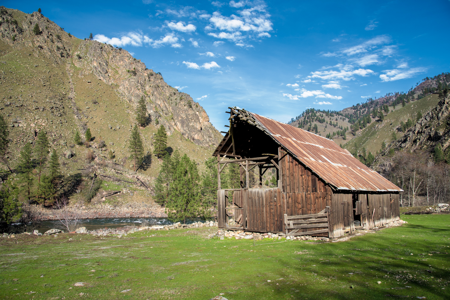 Salmon River Shed