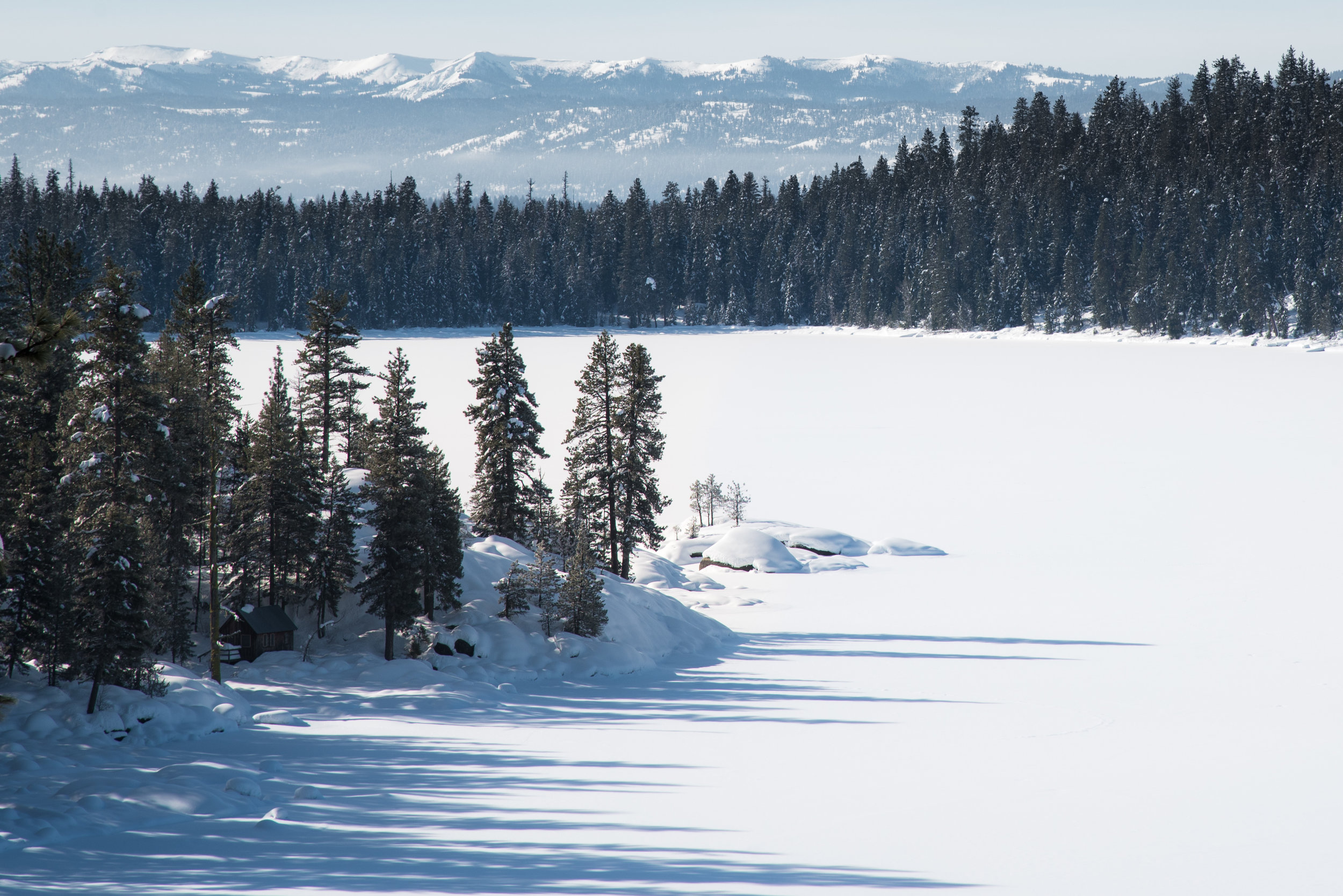 Payette Lake in Winter