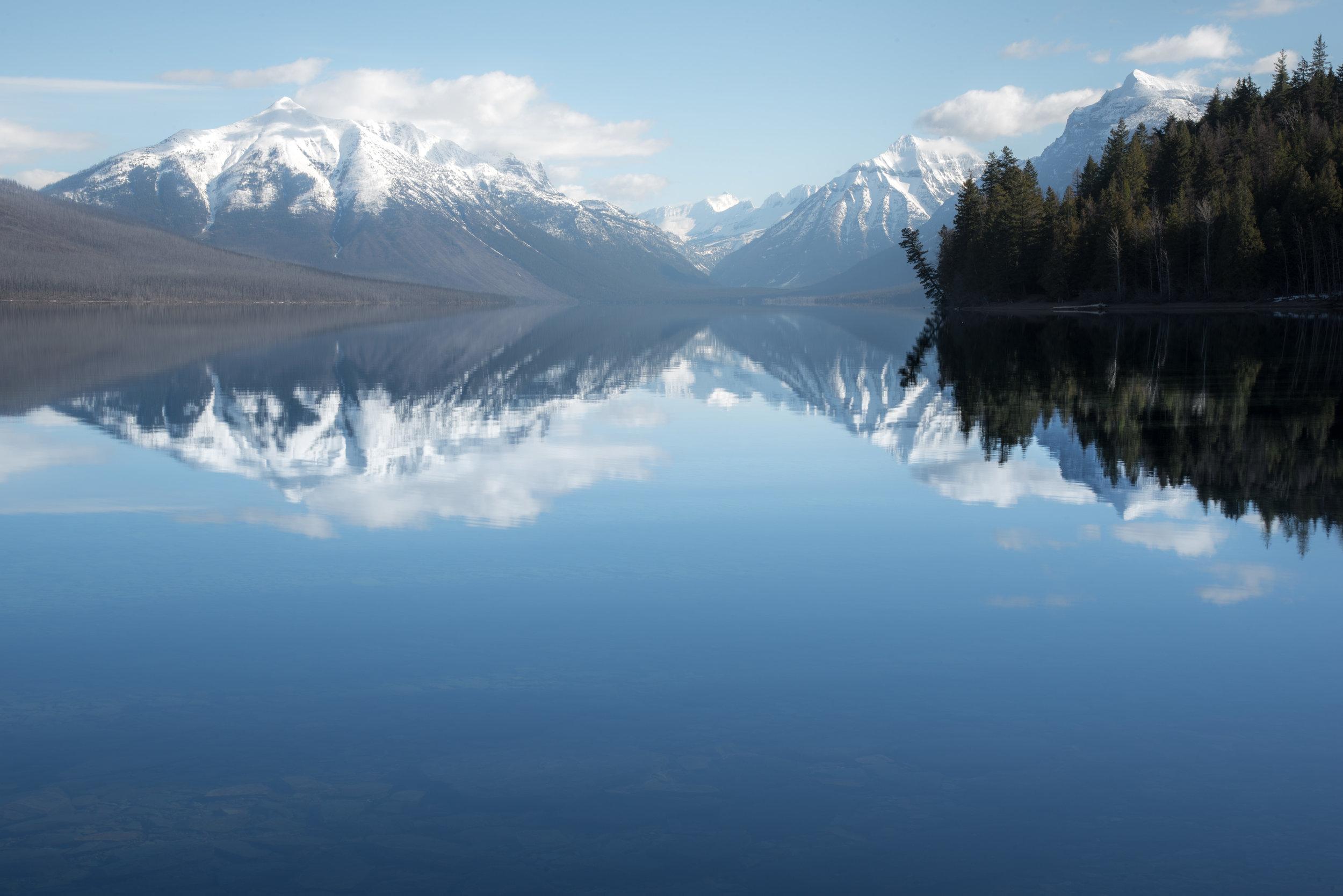 Lake McDonald Reflection