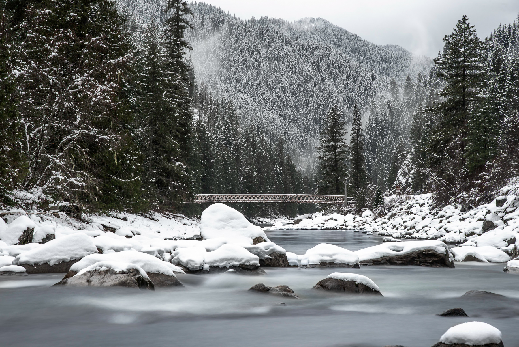Winter at Split Creek