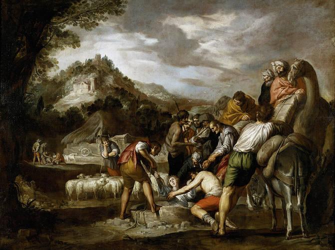 image:   Joseph sold by his Brothers (Jose Vendido)   , by Antonio del Castillo y Saavedra (1616 - 1668)