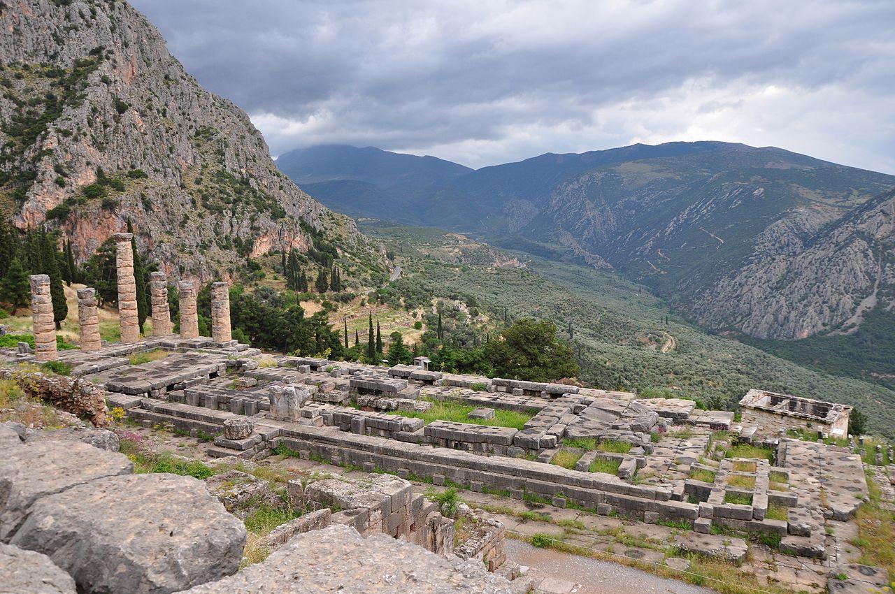 image: Delphi.          Wikimedia commons (  link  ).