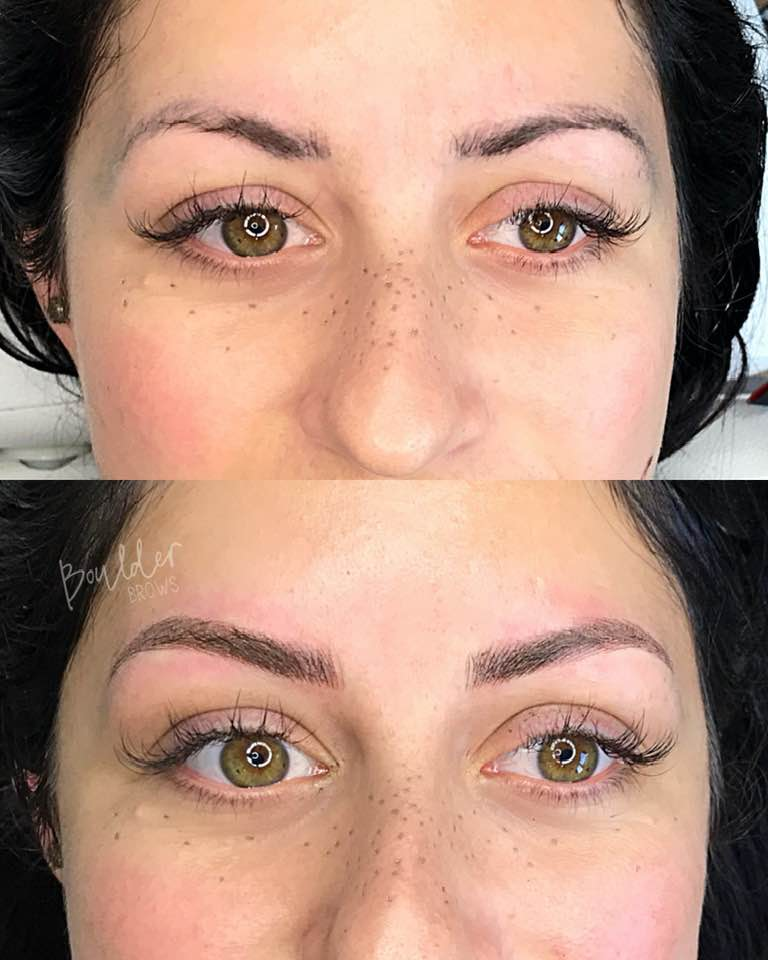 CORRECTIVE WORK  BY JESS Top: Pre-Existing Work | Bottom: Immediately After