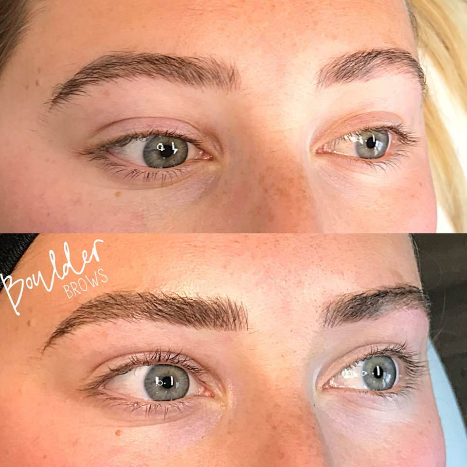 2ND MICROBLADING SESSION  BY JESS Top: Healed | Bottom: After