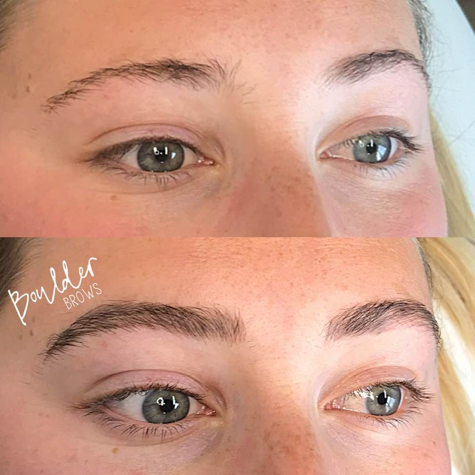 1ST MICROBLADING SESSION  BY JESS Top: Before | Bottom: After Healed