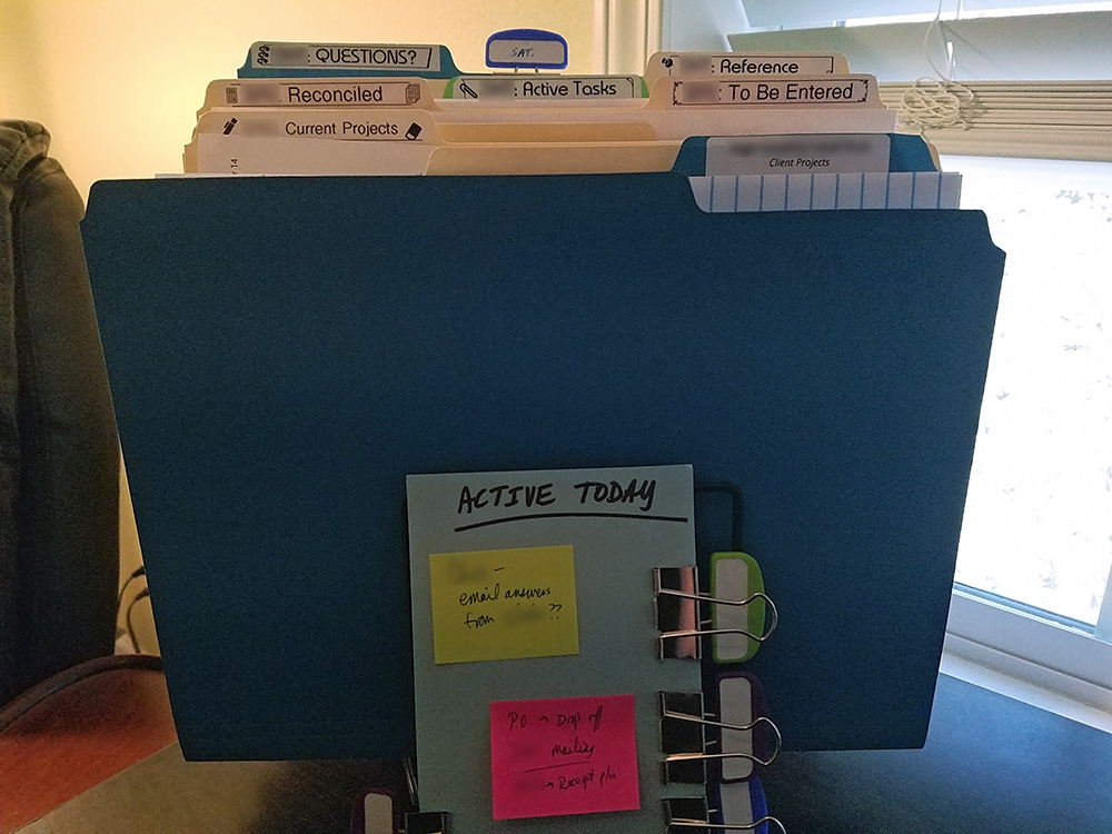 """My Active or """"Today"""" Step File Folder"""