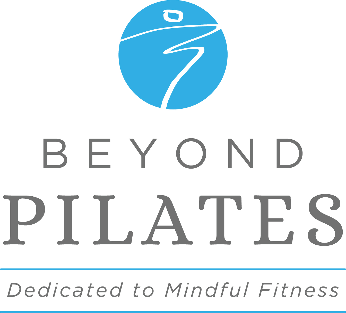 Beyond Pilates Logo with Tagline