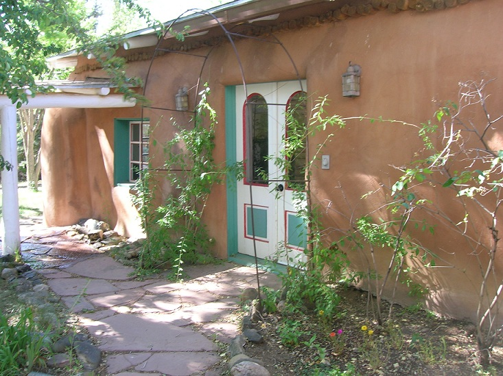 Mabel Dodge Luhan House in Taos, New Mexico.