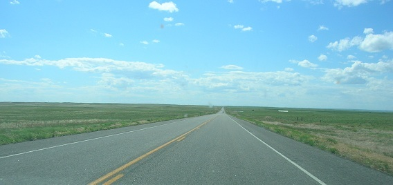 Highway 136. I think. Who remembers.