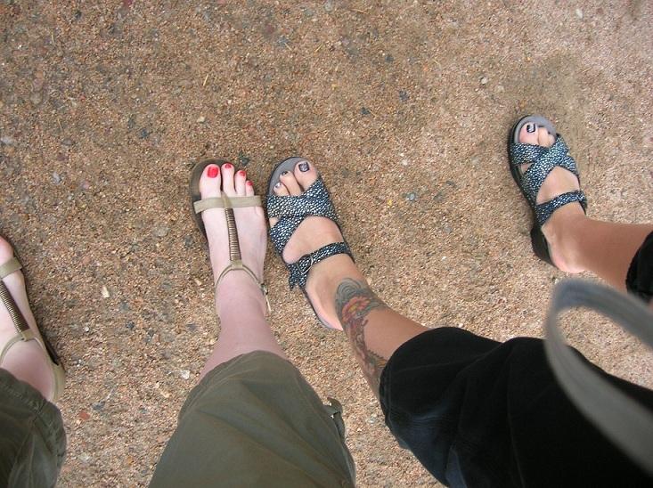 Smart toes. Dumb walking shoes.