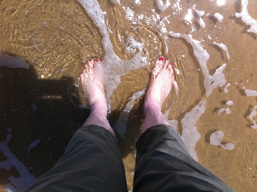Toes in the water!.JPG