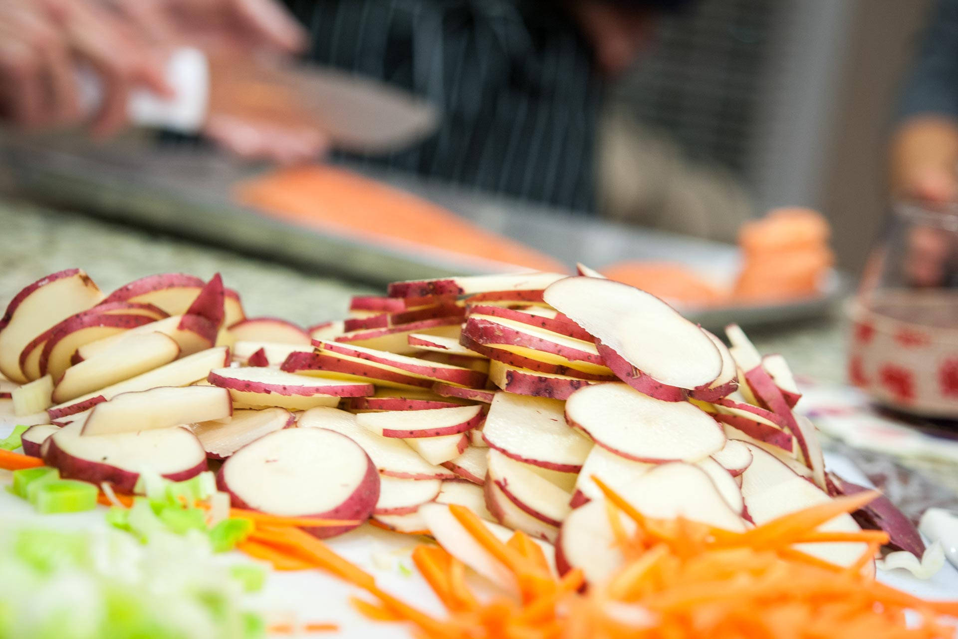 Zest Culinary Services uses the freshest ingredients