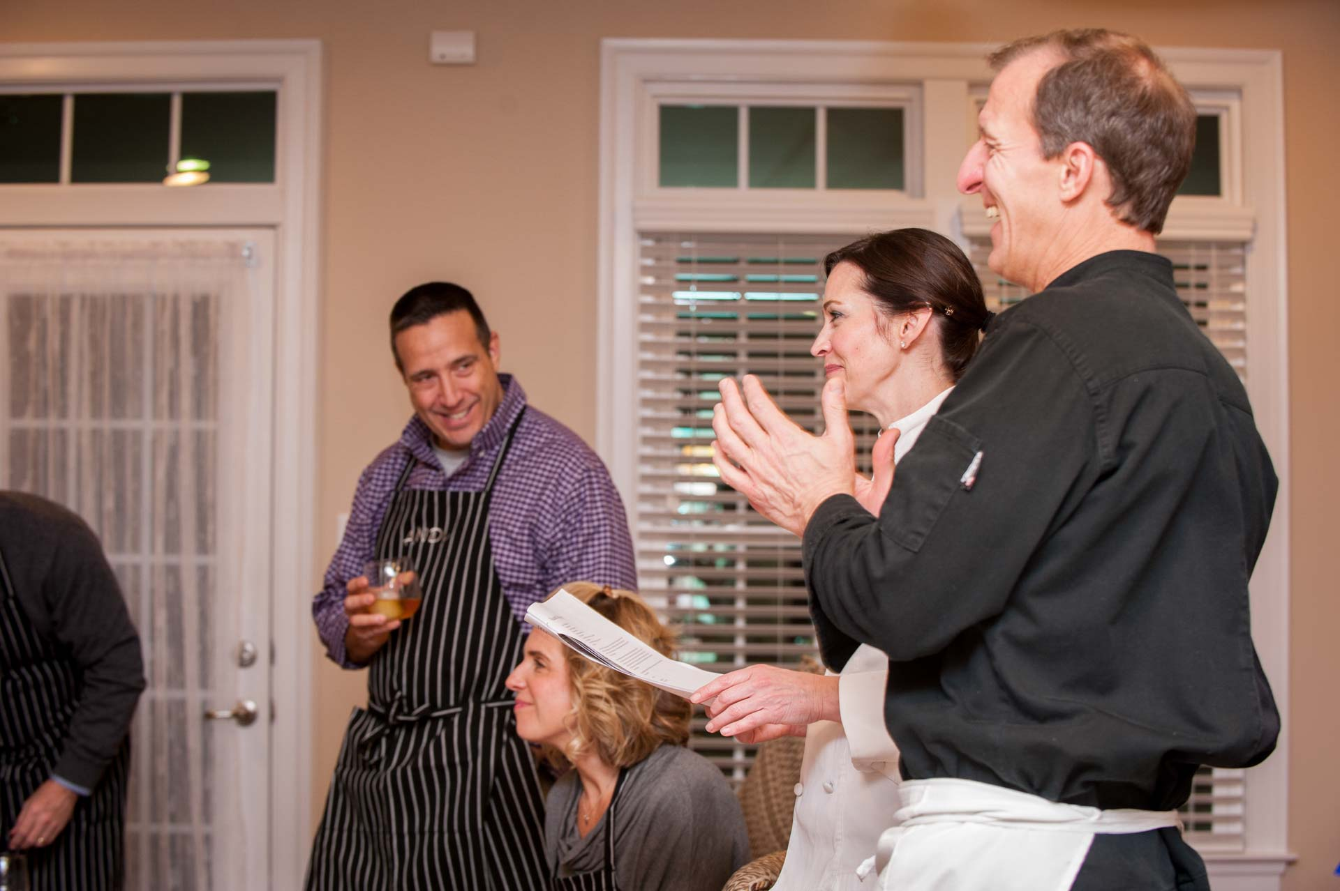 Zest Culinary Services Interactive Cooking Party