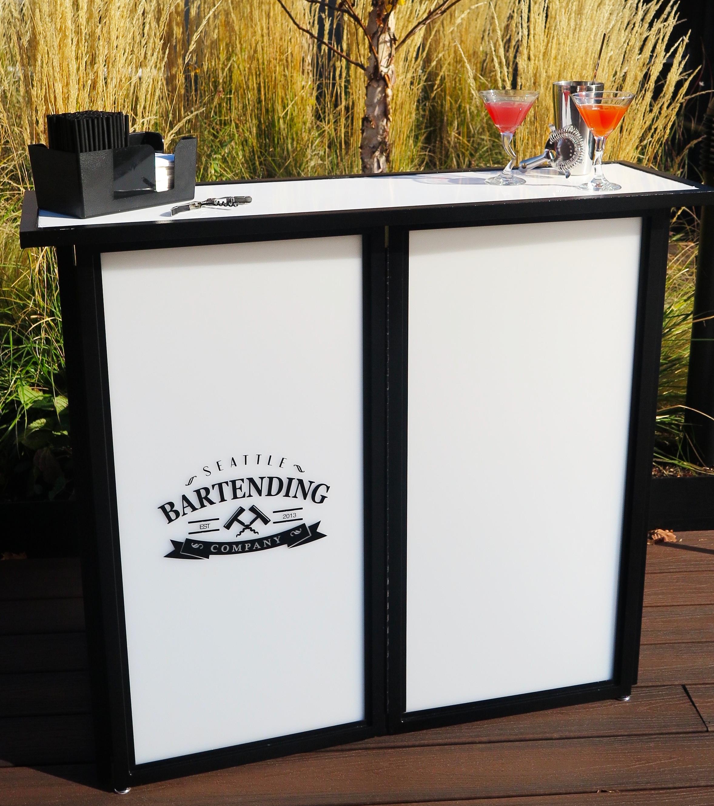 Mini Portable Bar (white)