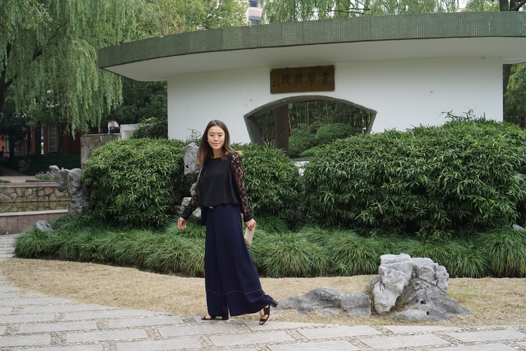 Strolling around at the poetic FuDang University