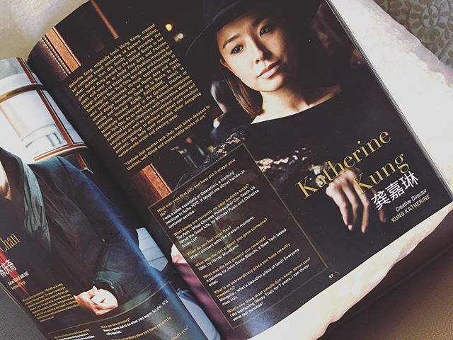 Thank you 2016 Mandarin Leader - recognizing excellence amongst Chinese in North America #magazine #annual #KungKatherine #press #instagood #profile #MadeinNYC #designer #design #fashion #nyc #newyork