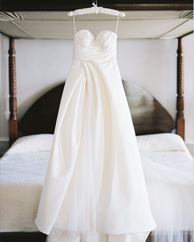Custom made for a special day by #KungKatherine #weddinggown #whitedress #custommade #madeinnyc #nycc #designer #wedding #style
