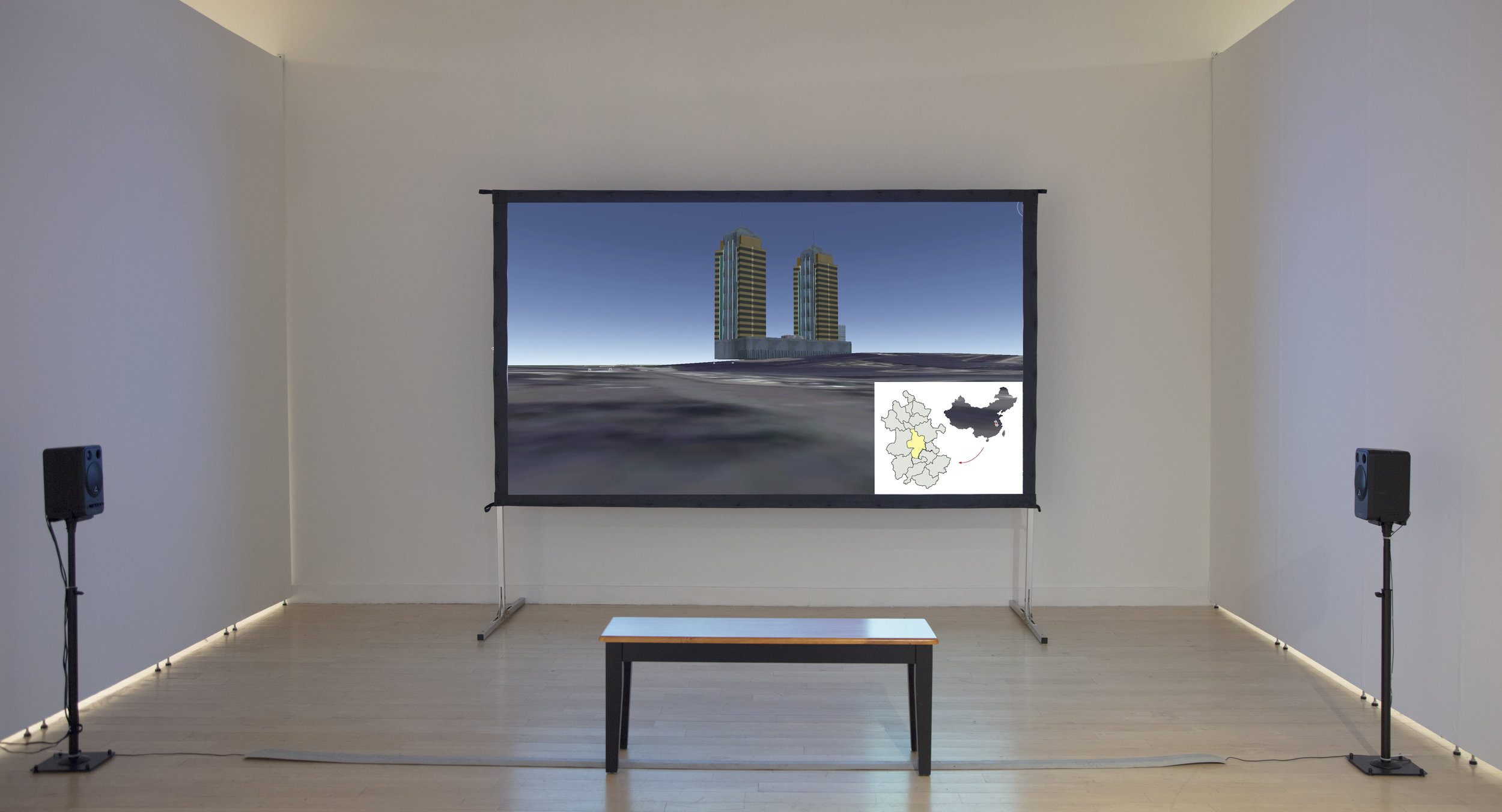 Installation view, T Sheila & Richard Riggs Gallery, Baltimore