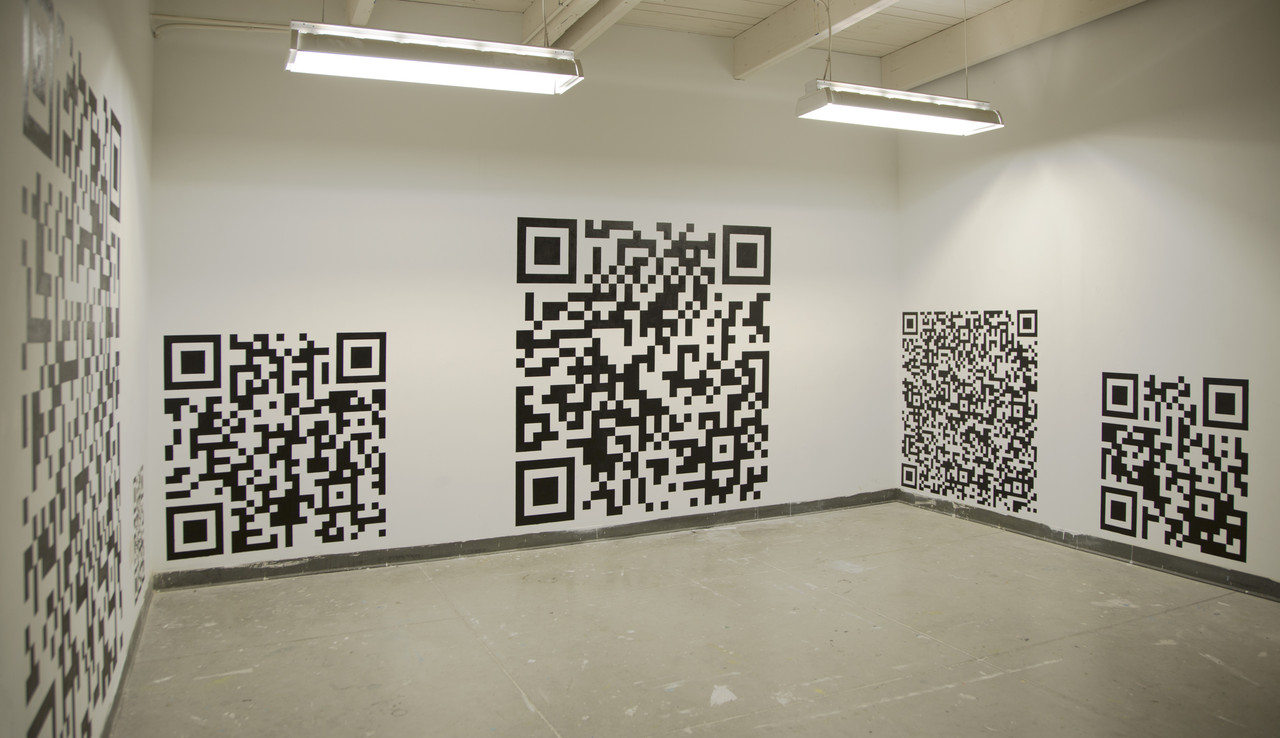 Installation view, Lazarus Center, Baltimore