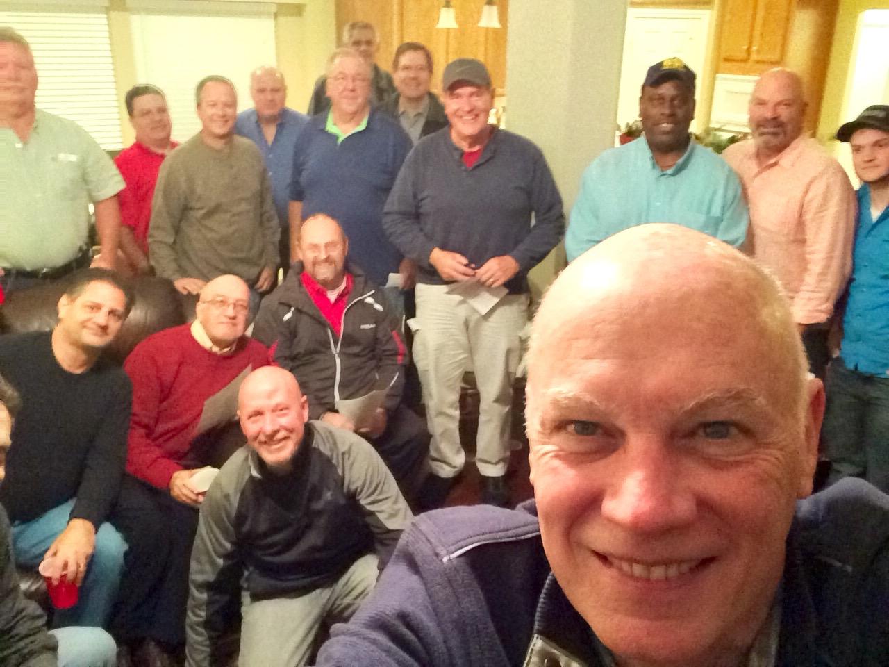 Men's Small Group, 2nd Baptist Church, Houston, TX