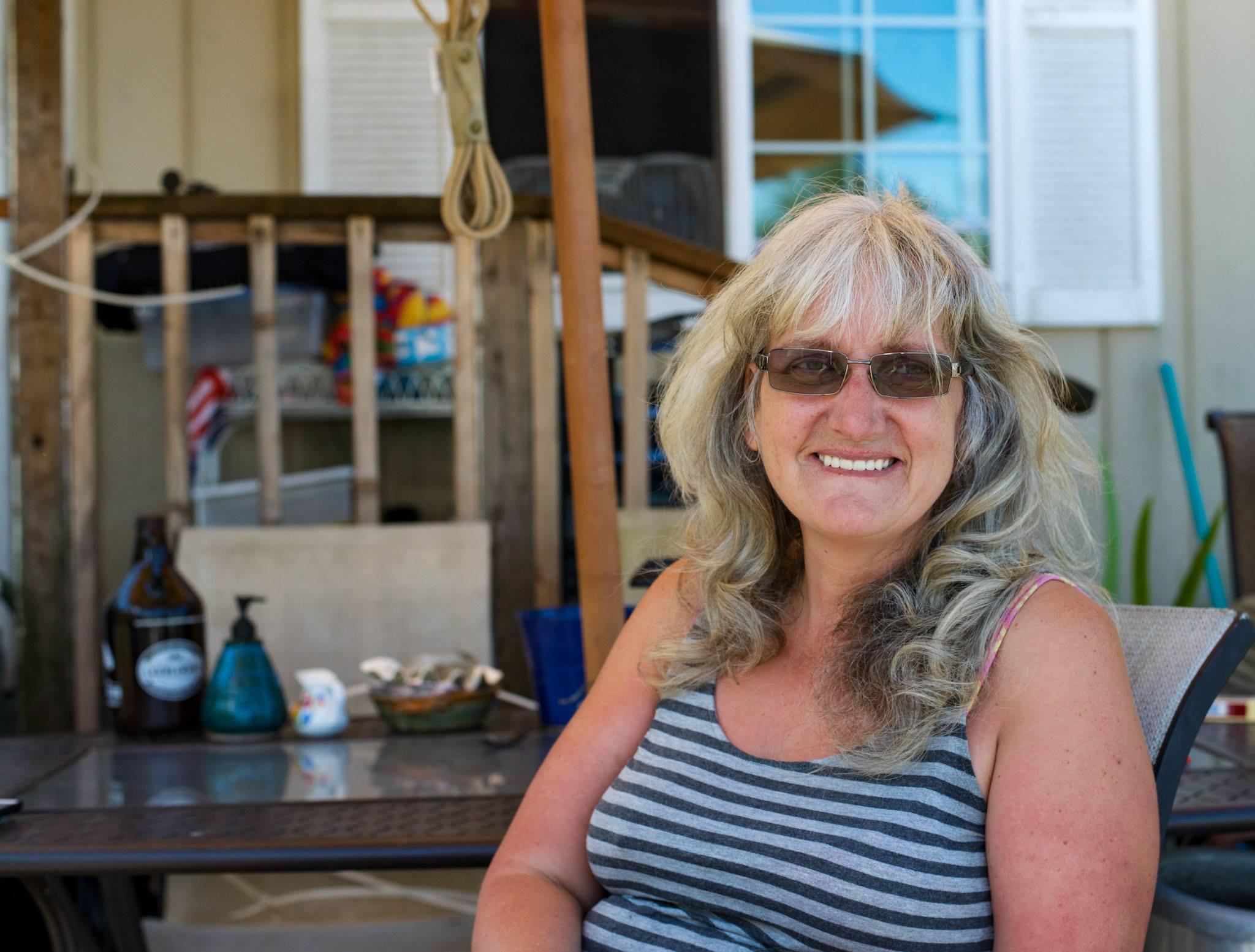 Lisa, CEO of Dignity Village in Portland, Oregon.