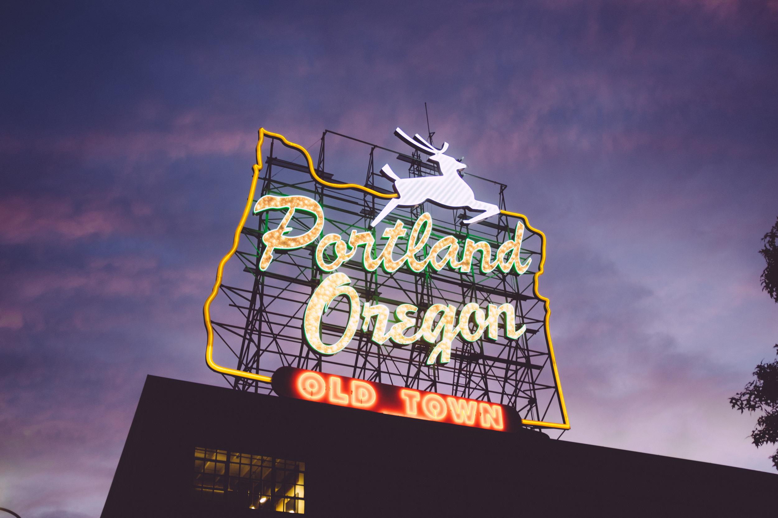 Portland, Oregon photo by Zach Spears.