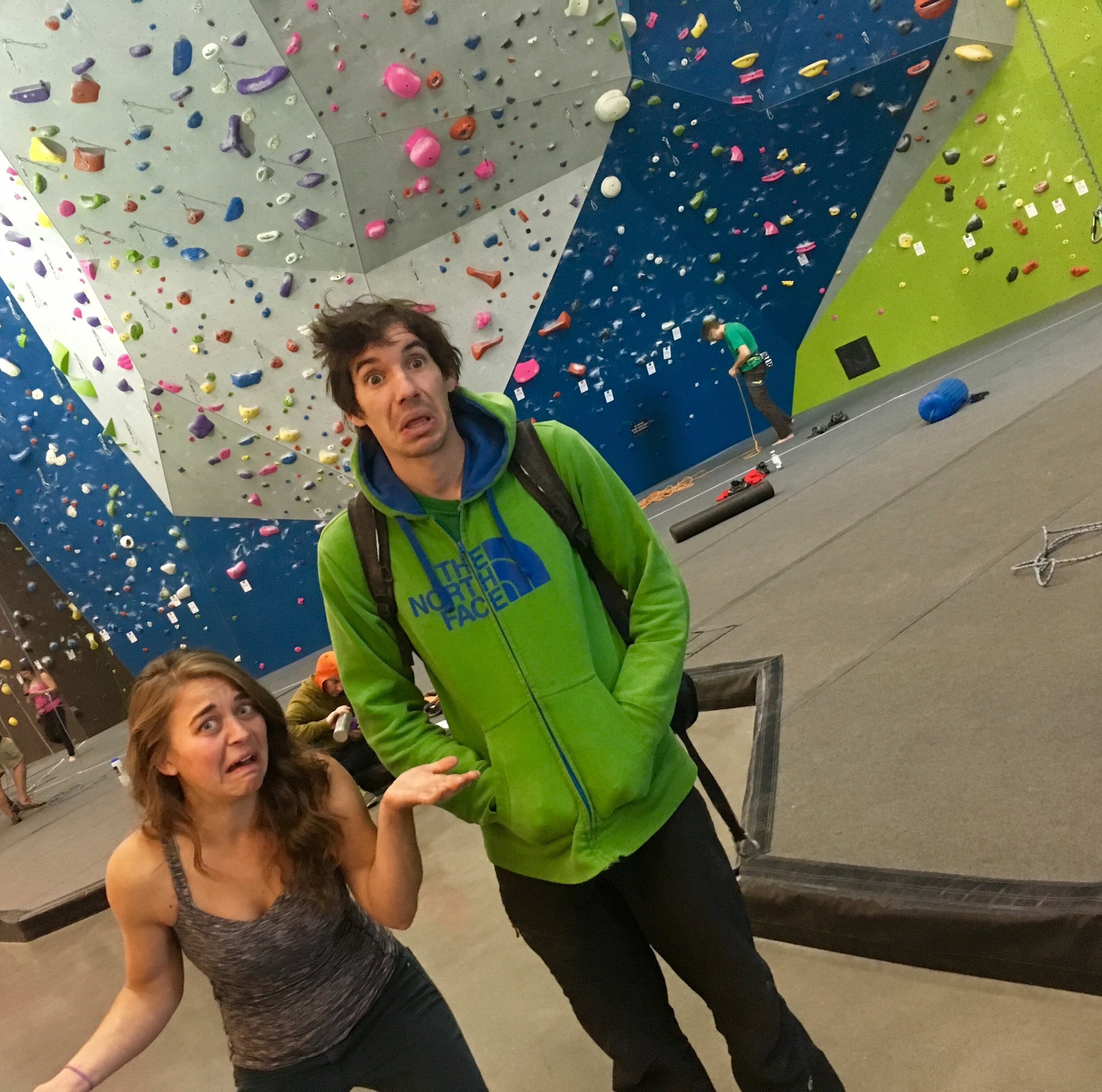 """Erin Monahan and Alex Honnold are confused as to why people glorify van life when it comes to sprinters and """"dirtbags,"""" but we don't give respect and acknowledgement to those who do it out of necessity."""