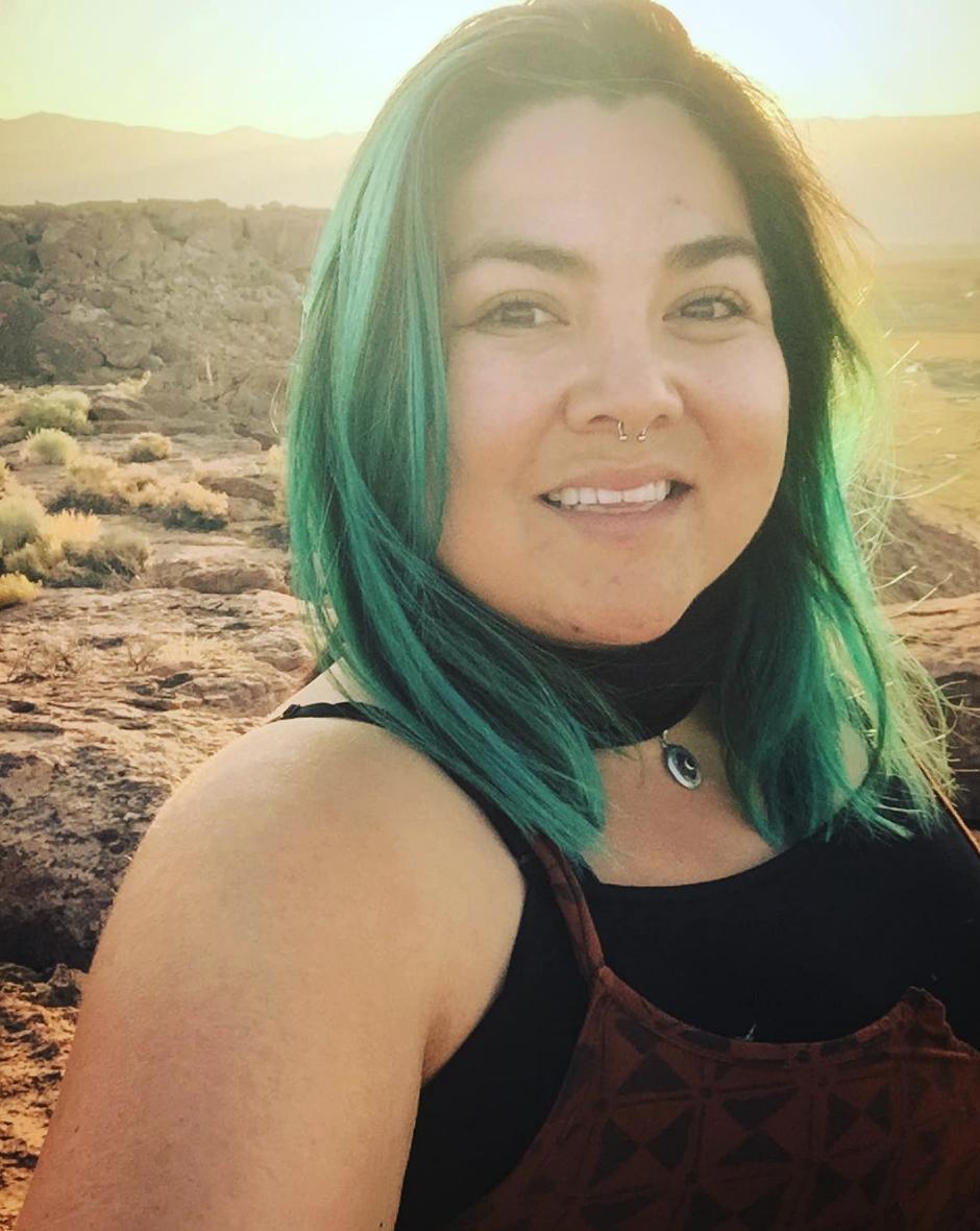 Jolie Varela on a sunrise hike via her Instagram