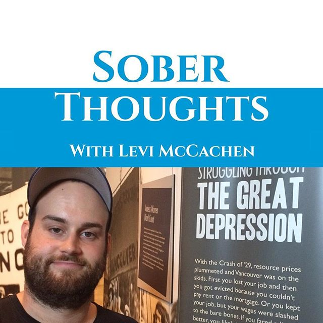 New episode of Sober Thoughts with Levi McCachen up. I talked to @darcybooncollins It was very fun and this picture is very apt. Link in bio. . . . . . . #recovery #sobriety #sober #podcast #mentalhealth #recoveryispossible #recoverywarrior #recoveryhumor #recoveryquotes #soberliving #soberaf #sobrietysucks