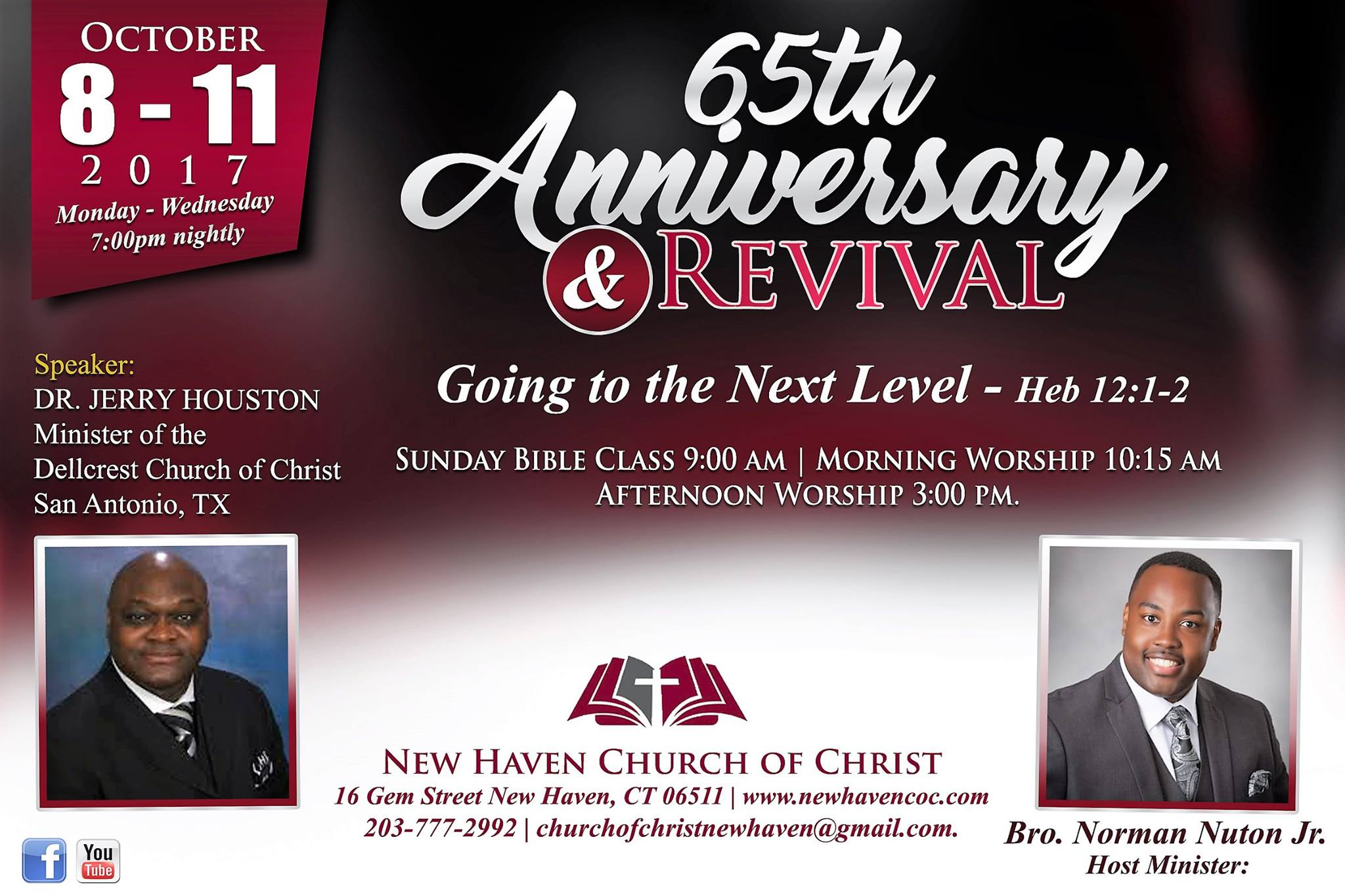 Hosted by the New Haven Church of Christ -