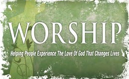 Come and worship with us - We look forward to seeing you.