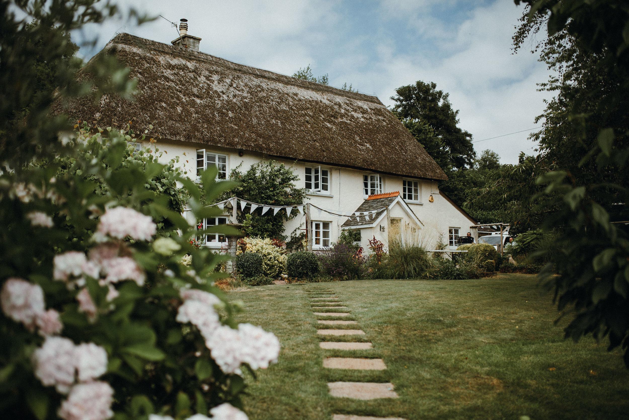 Torquay wedding at home