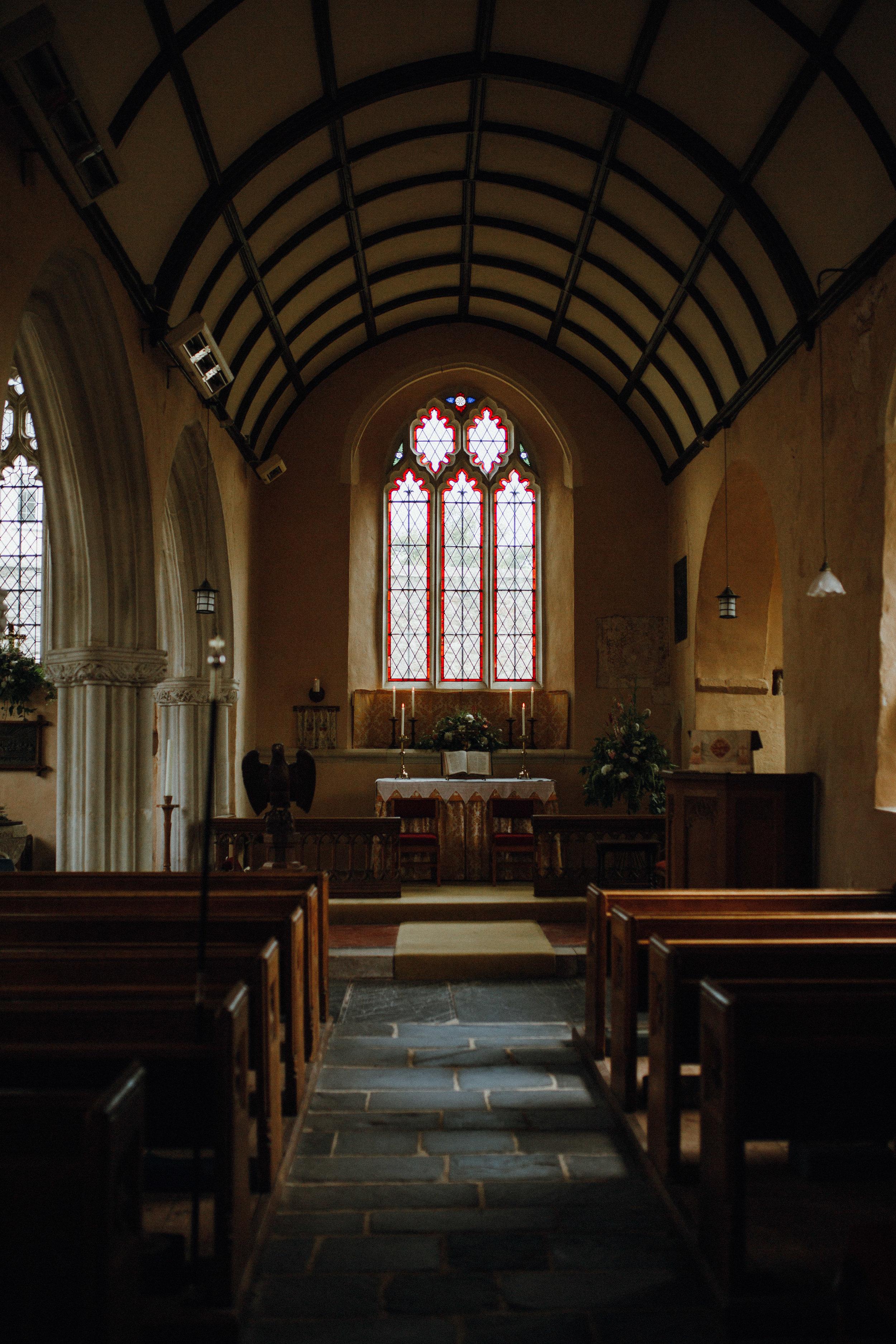 Coffinswell church