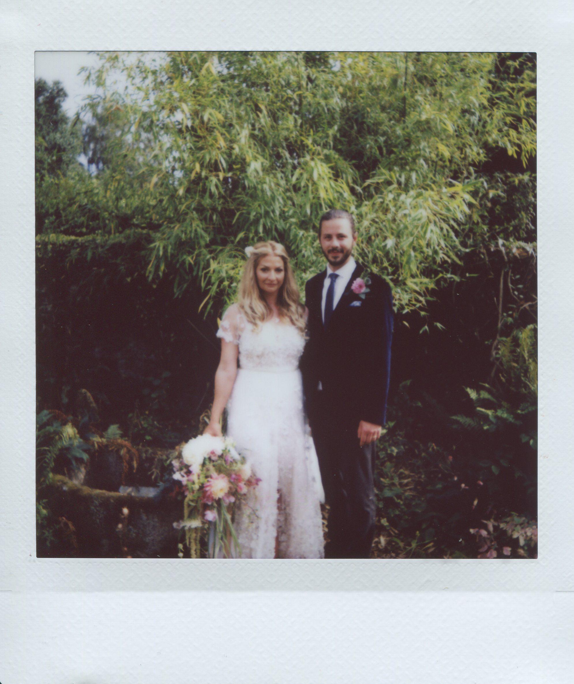 Instax square wedding