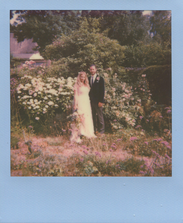 Polaroid wedding photographer