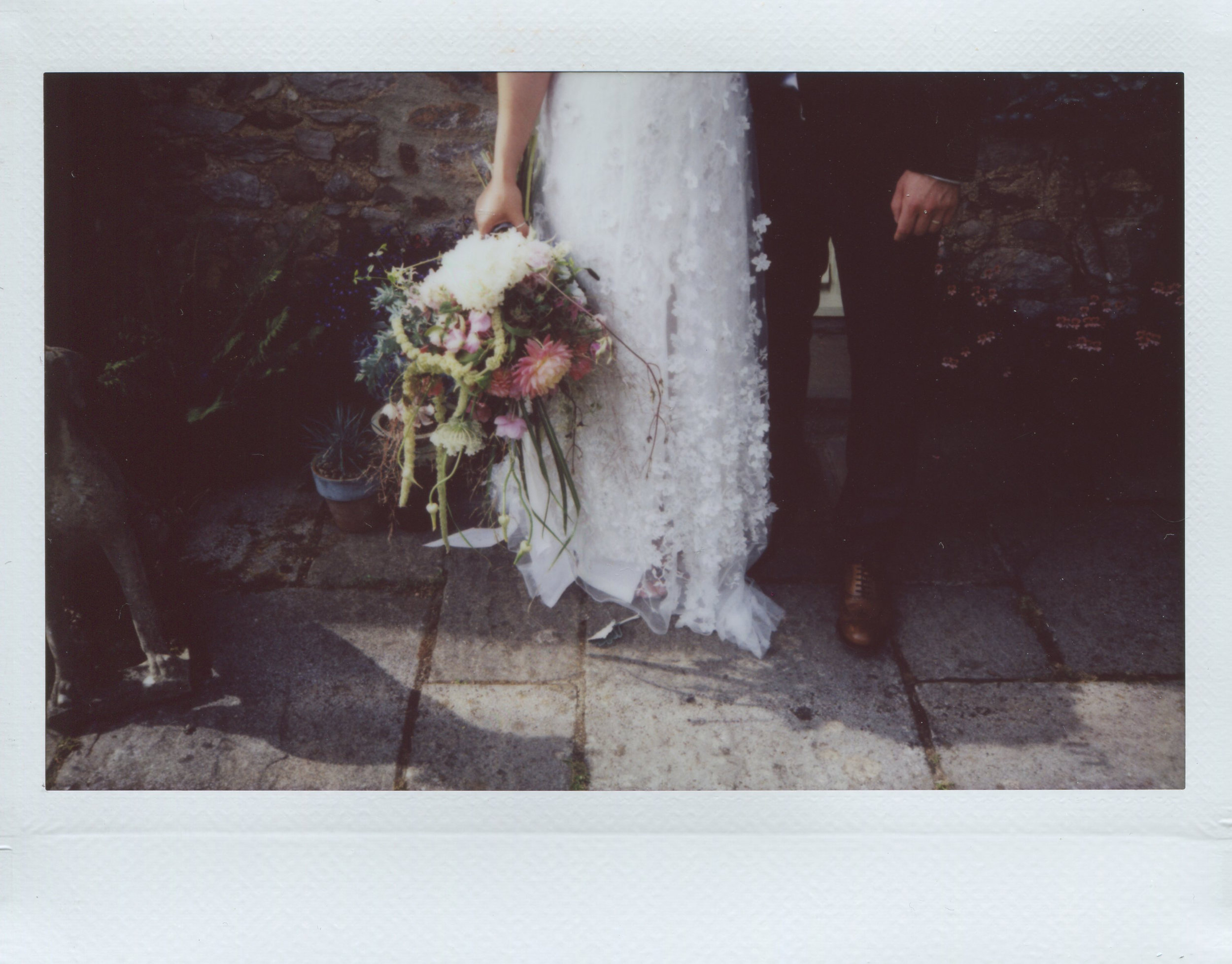 Instax wide wedding photography