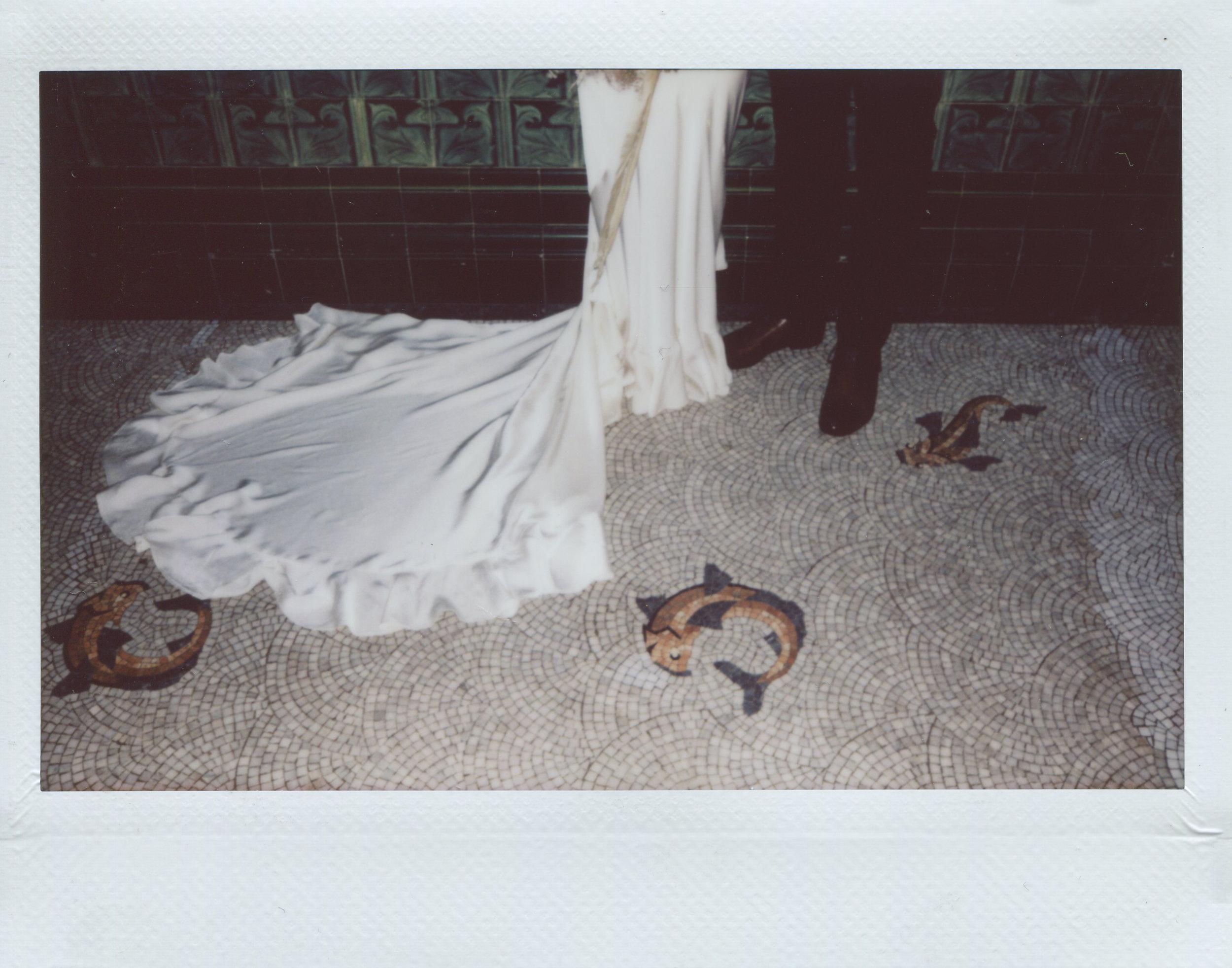 Instax wedding photographer