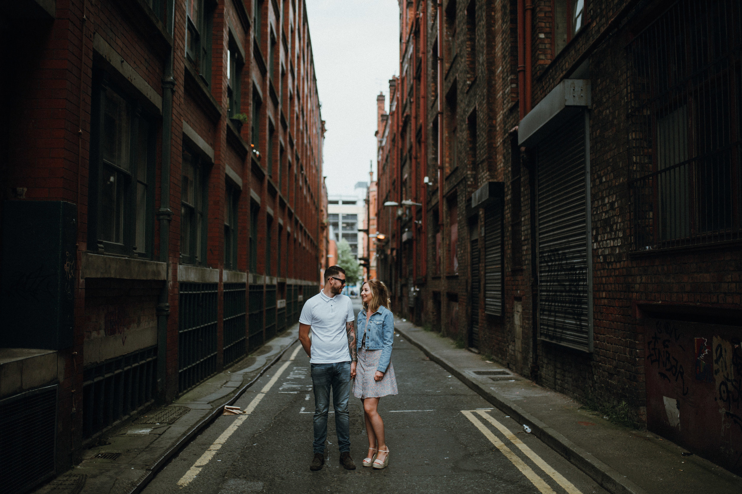 Northern Quarter engagement shoot