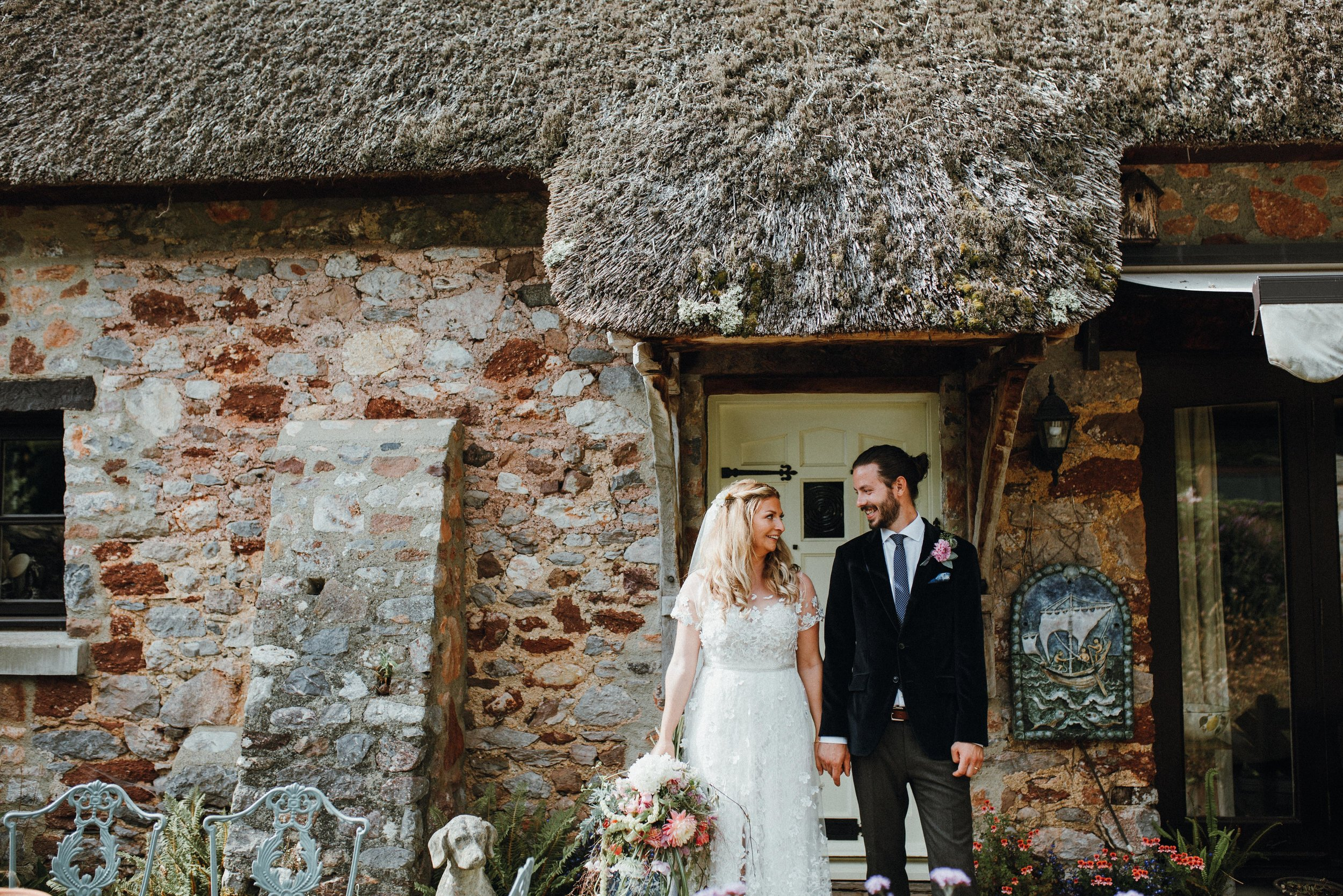Sophie + Max, Devon - Thank you SO much - we are totally blown away by the photos and the film, you have managed to capture the magic of our day so perfectly and we couldn't be more grateful. We will show and tell ALL our friends how wonderfully talented you are.