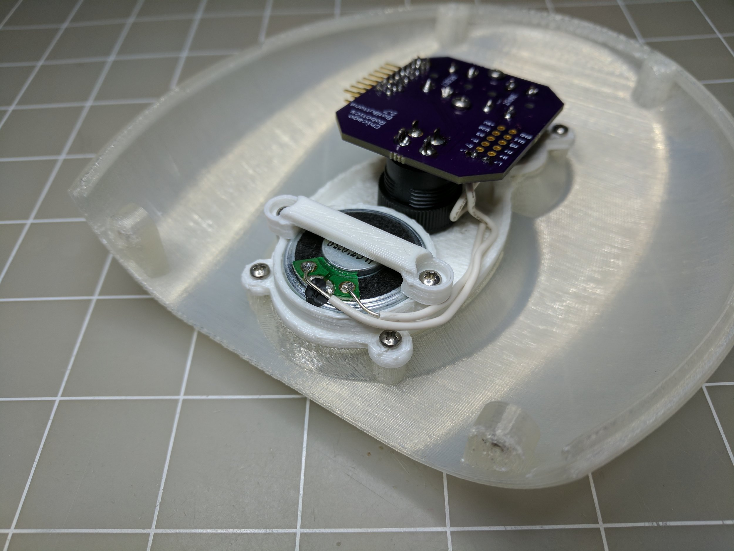 Solder the parts (click to magnify)