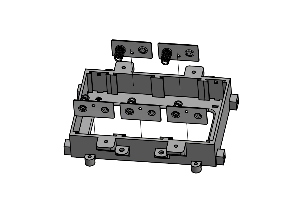 Add double-sided connectors