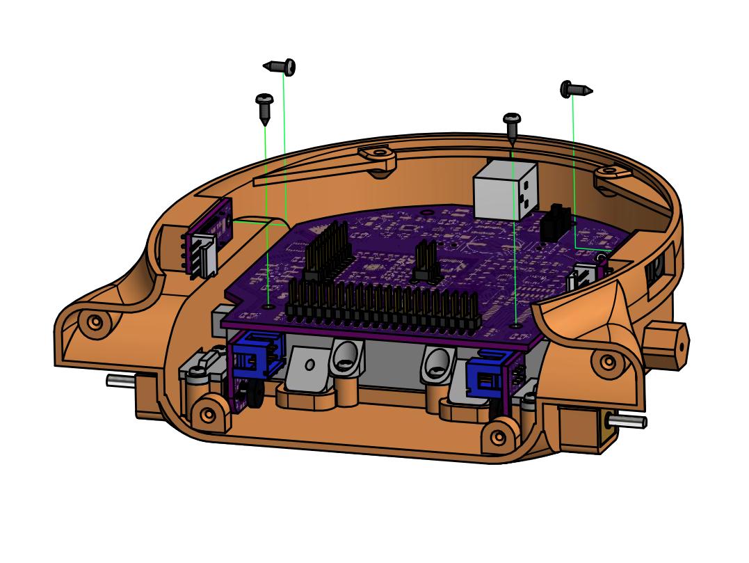 Install Mainboard and Sensors